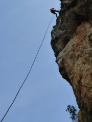 Rappelling Outing